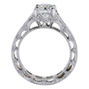 1.24 ct. Round Cut Bridal Set Ring, G, VS2 #4