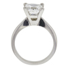 2.01 ct. Princess Cut Solitaire Ring, G, VS1 #4