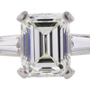 2.13 ct. Emerald Cut 3 Stone Ring, J, VS2 #4