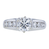 1.14 ct. Round Modified Brilliant Cut Solitaire Ring, G, I2 #3