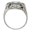 1.52 ct. Radiant Cut Solitaire Ring, J, SI2 #1