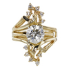 1.81 ct. Circular Brilliant Cut Bridal Set Ring, M, VVS2 #3