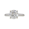 2.13 ct. Round Cut Solitaire Ring, H, I2 #3