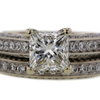 1.70 ct. Princess Cut Bridal Set Ring #1