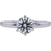 1.02 ct. Round Cut Solitaire Ring, H, SI1 #3
