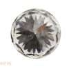 0.81 ct. Round Cut 3 Stone Ring, H, VS1 #4