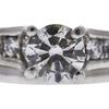 1.01 ct. Round Cut Bridal Set Ring, I, SI2 #4