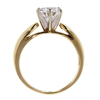 Antique GIA 1.35 ct. Round Cut Solitaire Ring #3