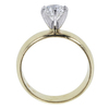 0.95 ct. Round Cut Solitaire Ring, G-H, SI2 #3