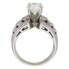1.7 ct. Round Cut Solitaire Ring, J, SI2 #4