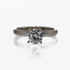 .98 ct. Round Cut Bridal Set Ring #2