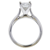1.28 ct. Princess Cut Solitaire Ring, H, SI1 #2