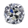 1.75 ct. Old Mine Cut 3 Stone Ring #2