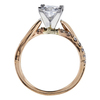 1.02 ct. Princess Cut Solitaire Ring, F, SI1 #3