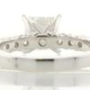 1.43 ct. Princess Cut Bridal Set Ring #4