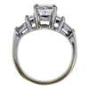 1.75 ct. Radiant Cut Bridal Set Ring, G, VS2 #2