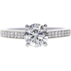 0.95 ct. Round Cut Ring, H-I, I1 #1