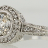 .96 ct. Round Cut Bridal Set Ring #3