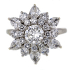 0.7 ct. Round Cut Right Hand Ring #1