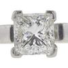 1.05 ct. Princess Cut Bridal Set Ring, G, VS1 #4