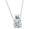 2.03 ct. Round Cut Pendant Necklace, I, SI2 #3