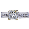 1.33 ct. Princess Cut Solitaire Ring, I, VS2 #3