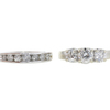 0.76 ct. Round Cut Bridal Set Ring, G-H, VS2-SI1 #2