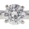 1.01 ct. Round Cut Solitaire Ring, F, I1 #4