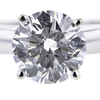 1.55 ct. Round Cut Solitaire Ring #4