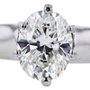 2.28 ct. Oval Cut Solitaire Ring #4