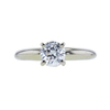 0.73 ct. Round Cut Solitaire Ring, F, VS2 #3