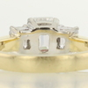 1.09 ct. Emerald Cut 3 Stone Ring #3