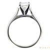 1.01 ct. Princess Cut Bridal Set Ring, I, VVS2 #3