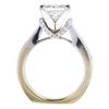 2.14 ct. Princess Cut Bridal Set Ring #2