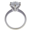 Art Deco GIA 2.5 ct. Round Cut Solitaire Ring, F, SI2 #3
