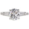 1.57 ct. Round Cut Solitaire Ring, G, VS2 #3