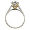 1.15 ct. Round Cut Solitaire Ring, H, I1 #1