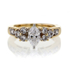.98 ct. Marquise Cut Solitaire Ring #3