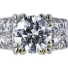 1.18 ct. Round Cut Bridal Set Ring, H, VVS2 #3