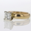 1.5 ct. Princess Cut Solitaire Ring #2