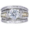 1.68 ct. Round Cut Bridal Set Ring, J, I1 #1