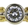 1.06 ct. Round Cut Bridal Set Ring, K, SI2 #4