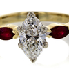 1.01 ct. Marquise Cut Solitaire Ring #3