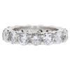 Round Cut Eternity Band Ring, H-I, I2-I3 #1