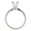 1.1 ct. Princess Cut Bridal Set Ring, F, VVS2 #4