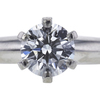 0.61 ct. Round Cut Bridal Set Tiffany & Co. Ring, G, VS1 #4