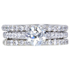 1.00 ct. Bridal Set Ring, J, VS1 #1