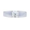 0.85 ct. Square Emerald Cut Solitaire Ring, I, VS2 #3