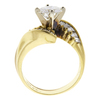 1.0 ct. Round Cut Solitaire Ring, G, SI1 #4