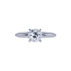 0.93 ct. Old European Cut Solitaire Ring, G, SI1 #2